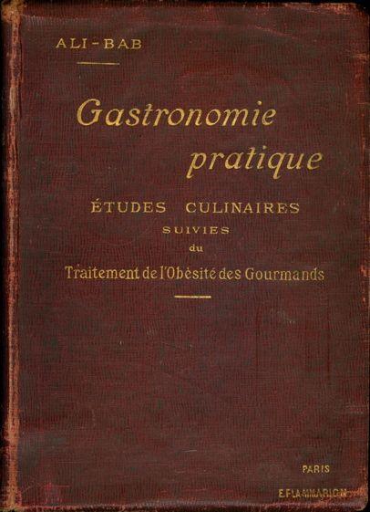 Обложка книги «Gastronomie pratique»