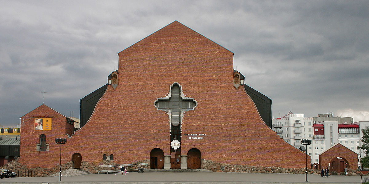 Kościół Wniebowstąpienia Pańskiego na Ursynowie, projekt: Marek Budzyński, Zbigniew Badowski, fot. Przemek Więch/Wikimedia