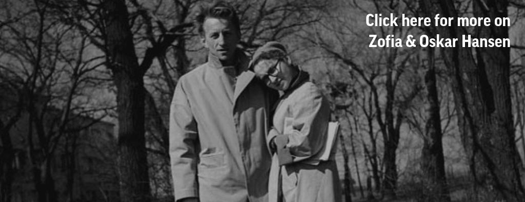 Zofia and Oskar Hansen, photo: the Hansens' family archive