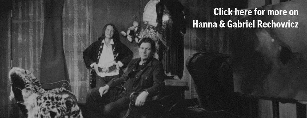 Hanna i Gabriel Rechowiczowie, beginning of the 1960s, photo: courtesy of Galeria Kolonie, Warsaw
