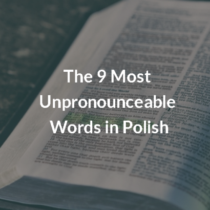 the 9 most unpronounceable words in polish article culturepl