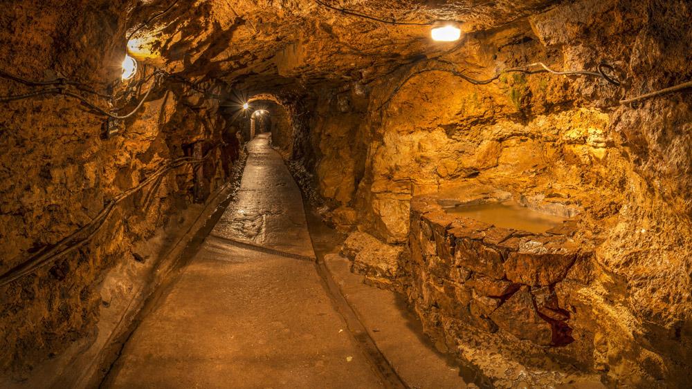 Фото: Подземные выработки — туристическая трасса. Фото из архива музея ZKSwTG