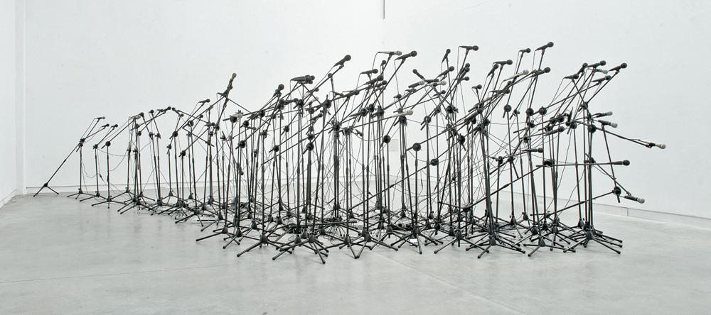 "Konrad Smoleński, ""It's on"", 2012, Galeria Leto, fot. Bartosz Górka / WGW"