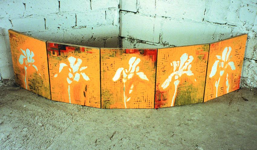 """Ryszard Woźniak, """"Irys"""", 1996, 50 x 39, fot. dzięki uprzejmości artysty"""