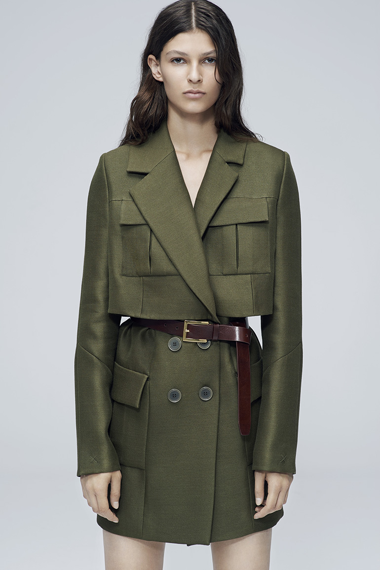 Magda Butrym, coat from AW14 Collection, photo courtesy of the artist