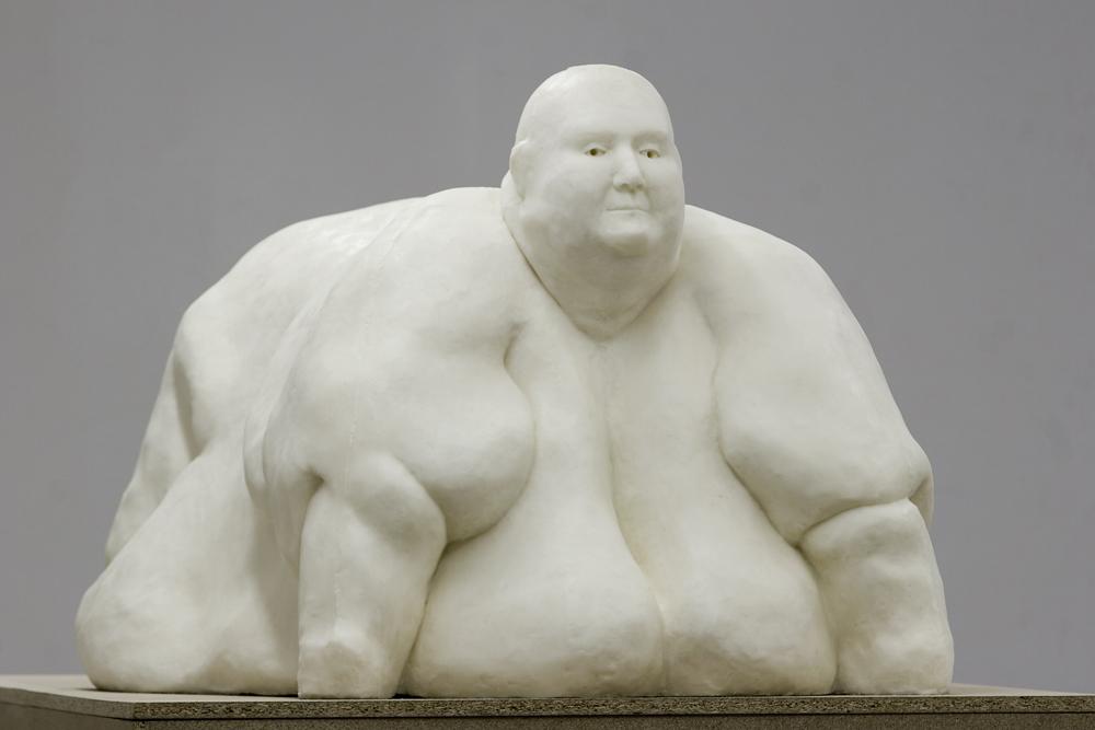 """Iza Tarasewicz """"DIRTY BOMB"""", 2008, Galeria Arsenał, Białystok, fot. Michał Strykowski / dzięki uprzejmości artystki"""