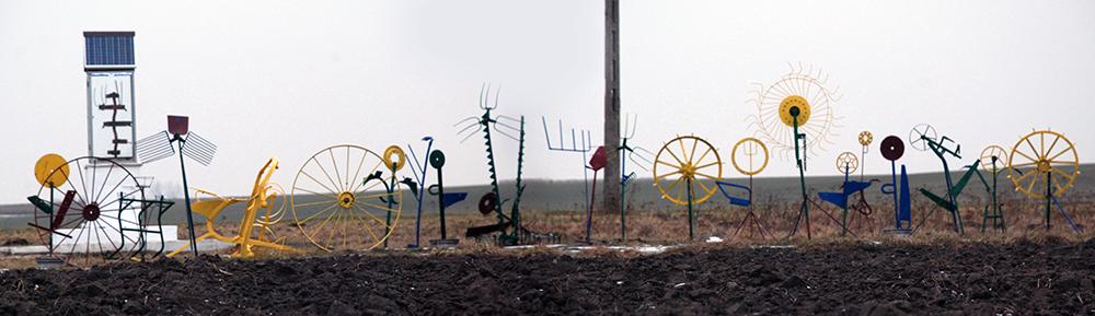 Daniel Rycharski, Winter Garden in Kurówko, 2013, photo: from the archives of the artist