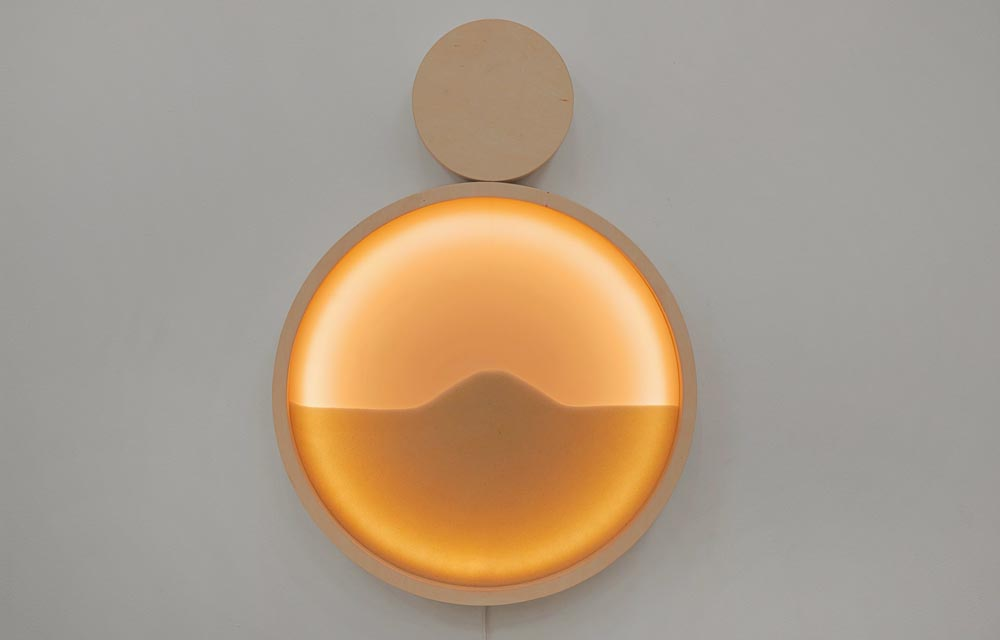 "Lampa ""KOLO"", projekt: Magda Jurek i Piotr Musiałowski, producent: Pani Jurek, Must Have 2014, fot. Łódź Design Festival 2014"