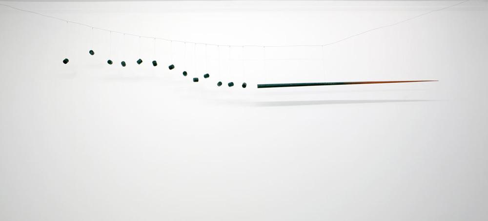 """Edward Krasiński, """"Dzida"""", 1963 -1964, fot. dzięki uprzejmości Fundacji Galerii Foksal"""