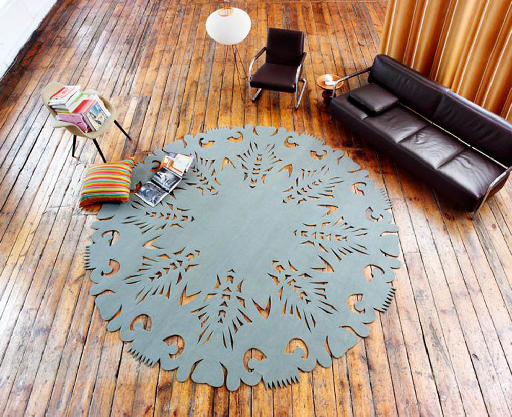 """Mohohej! DIA"", carpet, project: Magdalena Lubińska, Michał Kopaniszyn, photo: courtesy of the designers"