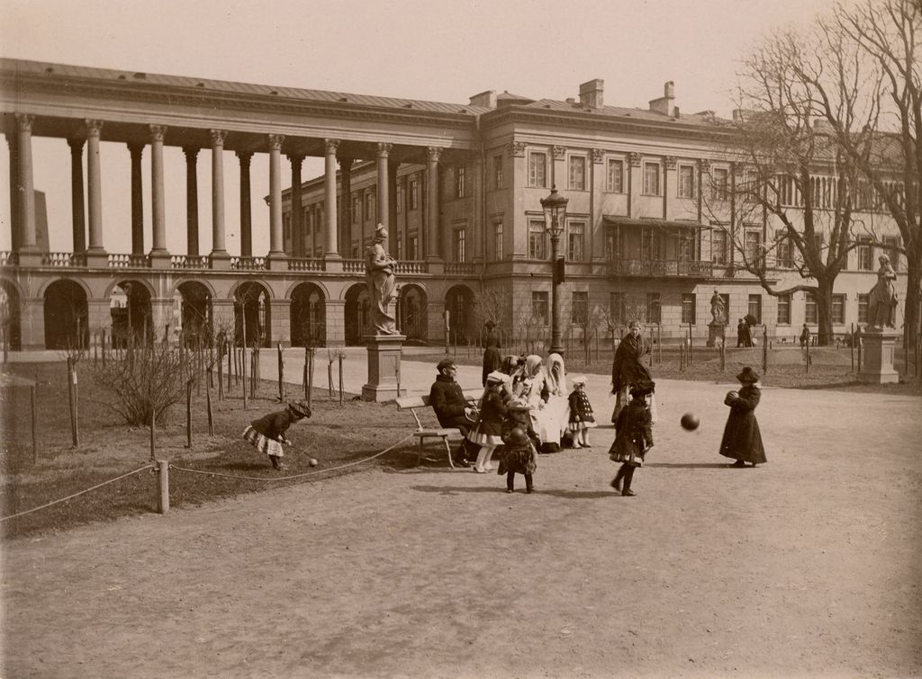 Konrad Brandel, Saski Garden, ca 1890, photo: Museum of Warsaw