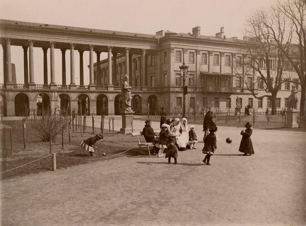 Konrad Brendal, Ogród Saski, ok. 1890. Muzeum Warszawy