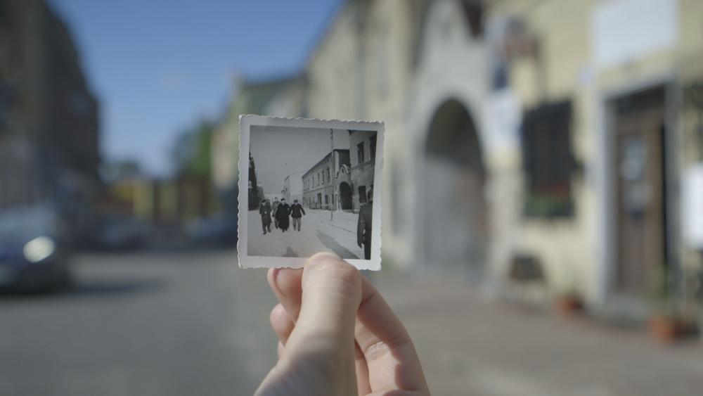 """Kadr z filmu """"Agfa 1939. Podróż w czasy wojny"""""""
