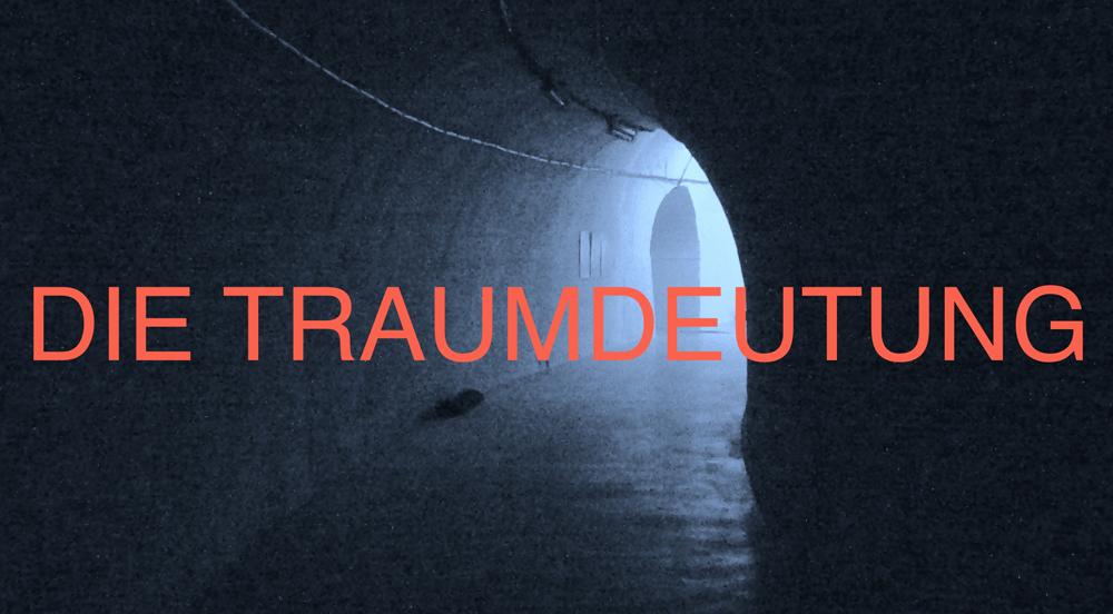 """plakat do wystawy """"Die Traumdeutung"""" Mirosława Bałki, fot. dzięki uprzejmości artysty"""