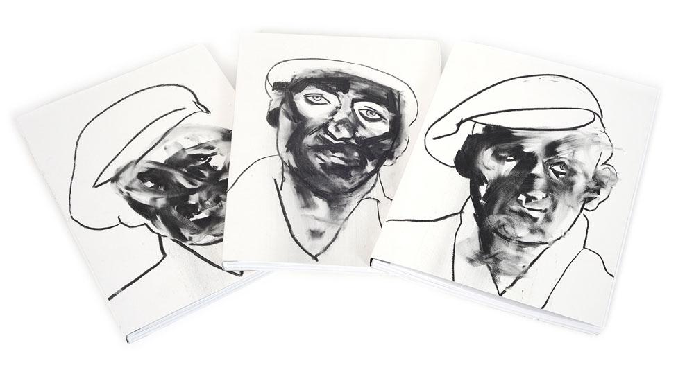 """Project by Michał Kaczyński: """"Rafał Bujnowski. Politics of paintings. Selected works 1999–2013"""", published by Raster Foundation, Warszawa, 2013, photo: Małgorzata Turczyńska / Print Control no.3"""