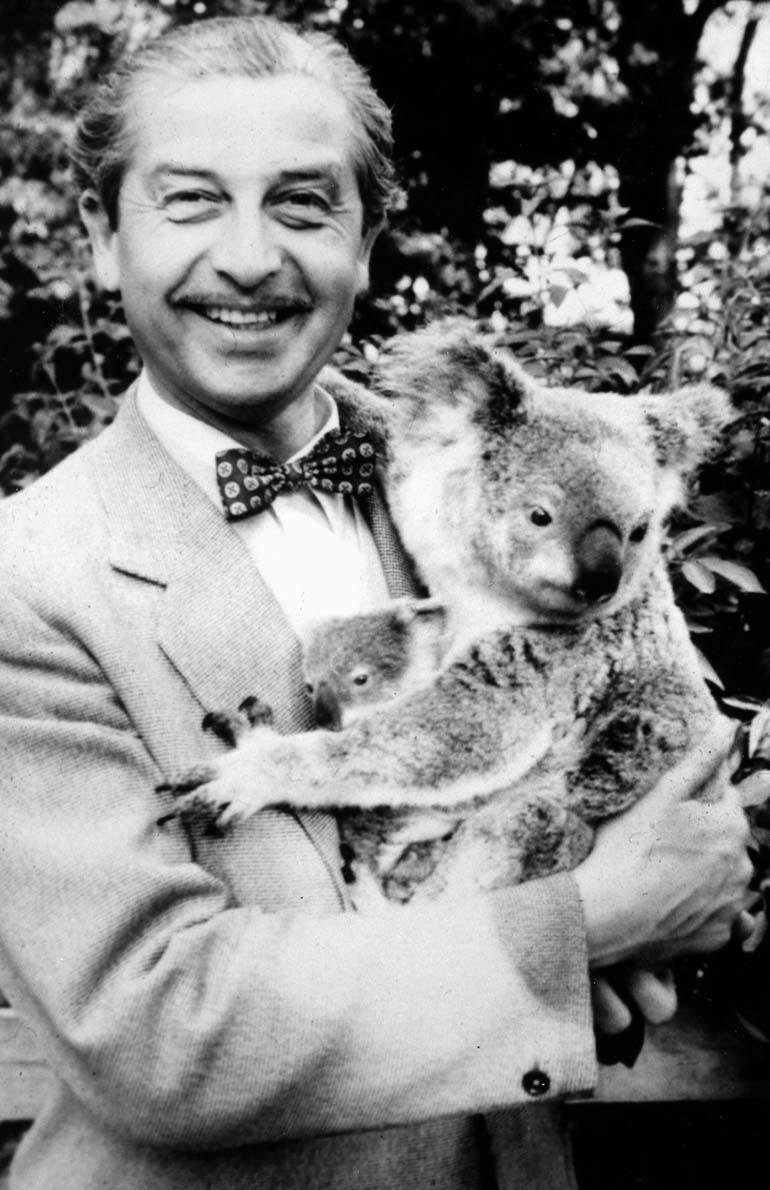 """Gwidon Borucki, pierwszy wykonawca """"Czerwonych maków na Monte Cassino"""", 1959, Brisbane, Australia, z archiwum Anny Mieszkowskiej"""