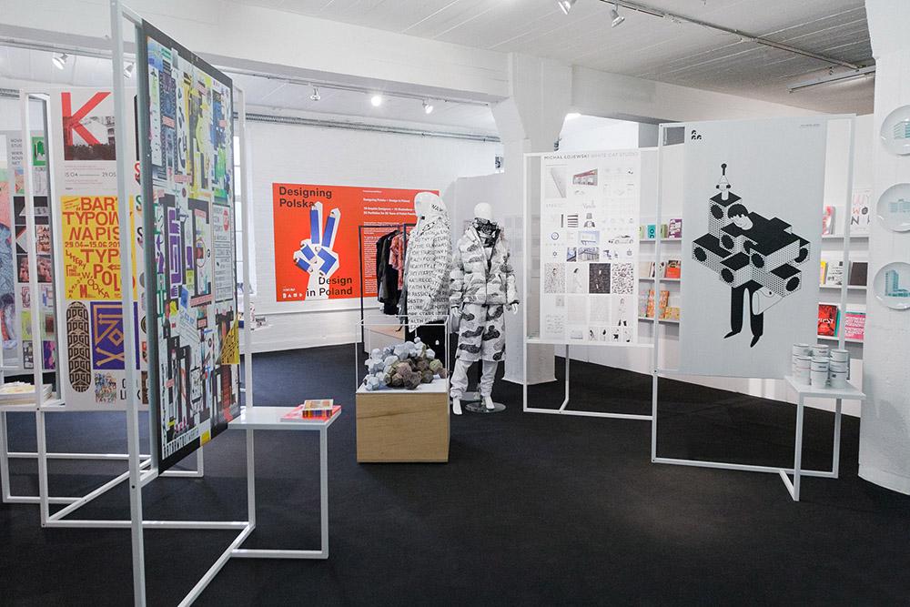 """Studio Robot, Designing Polska """"Design in Poland"""", projekt wystawy, fot. materiały prasowe"""