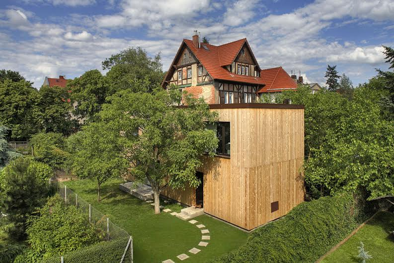 Roman Rutkowski, dom własny architekta na wrocławskich Krzykach, 2004-2009, fot. Olo Rutkowski