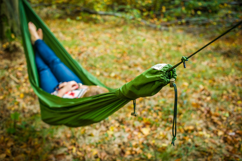 Must Have, hammock DUCH, designed by Rafał Palowski, produced by LESOVIK Małgorzata Szalińska, photo Łódź Design Festival 2015