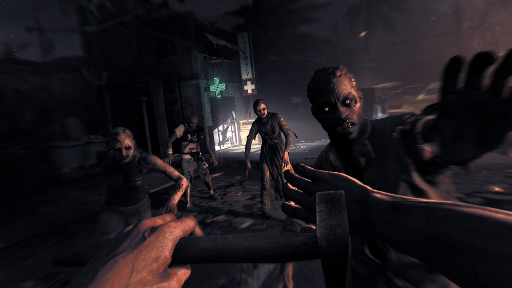 Screen from Dying Light, photo: press release by Techland / www.techland.pl