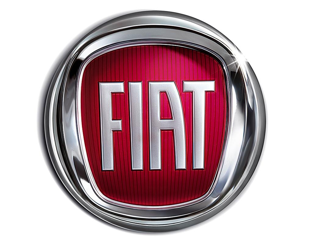 Logo of the FIAT designed by Janusz Kaniewski. Photo: Courtesy of Janusz Kaniewski Design