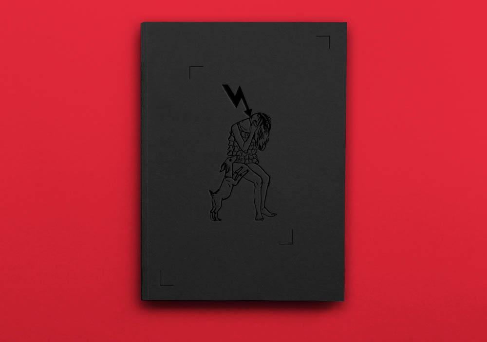 """Project by Fontarte / Magdalena Frankowska, Artur Frankowski: Aleksandra Waliszewska, """"Trembling Hands of Gold"""", photo: Małgorzata Turczyńska / Print Control no.3"""