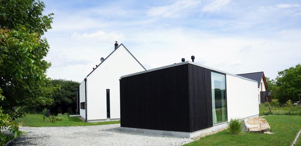 GRID Architekci, dom własny z pracownią na wrocławskich Osobowicach, 2009-2012, fot. Grid Achitekci