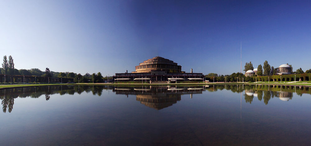 Centennial Hall (Hala Stulecia) in Wrocław, photo: Marek Skorupski / Forum