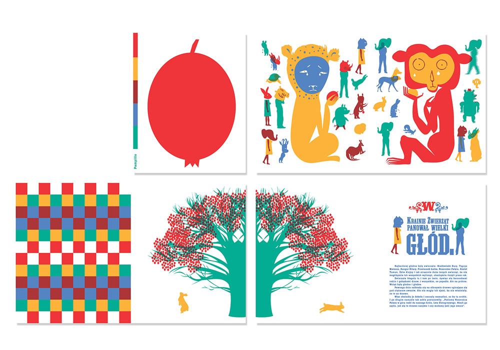 """Monika Hanulak, """"Pampilio"""", projekt graficzny książki do bajki Ireny Tuwim, fot. dzięki uprzejmości artystki"""