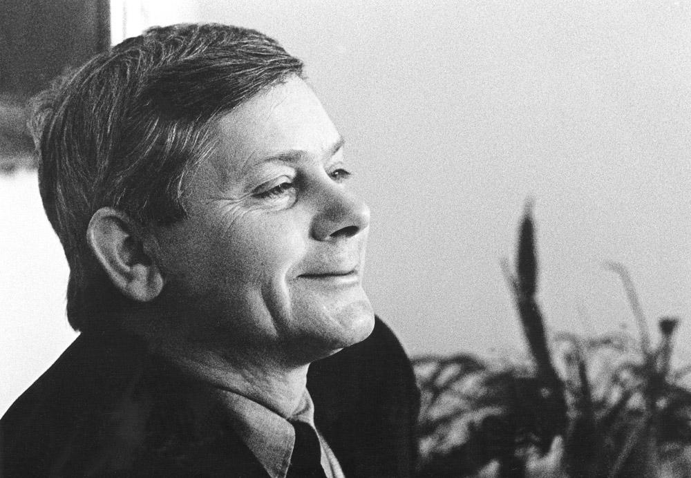 Zbigniew Herbert , Dom pracy tworczej ZLP, 1972, fot. Erazm Ciołek / Forum