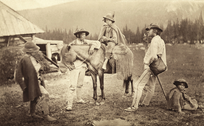 """Hermann Vogel, """"Pasterze na Hali Królowej"""", 1871, fot. Wydawnictwo Naukowe PWN"""