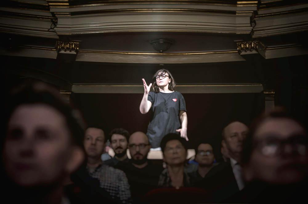 """""""Hymn do miłości"""" w reżyserii Marty Górnickiej, fot. Magda Hueckel/mat. prasowe"""