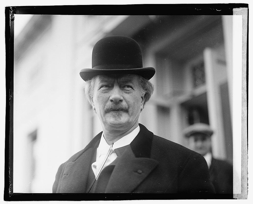 Ignacy Jan Paderewski, 1921, photo: collections of United States' Library of Congress