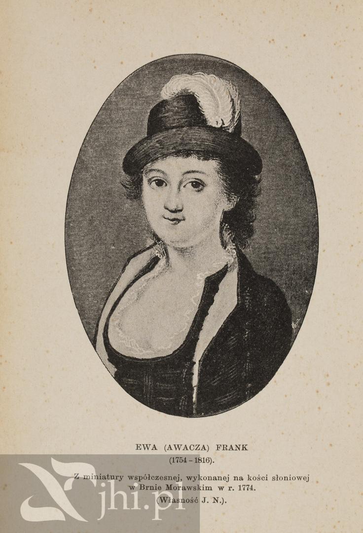 Ева Франк, 1774, фот. Еврейский исторический институт