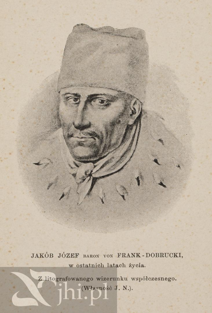 Jakub Frank, podobizna ze zbiorów ŻIH
