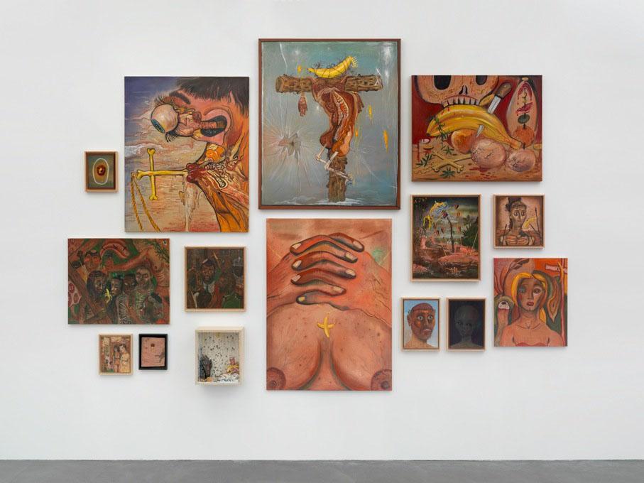 Jakub Julian Ziółkowski, The Story of King Bananus, 2012-2013, Mixed media, 15 parts, Dimensions variable, courtesy of Hauser & Wirth