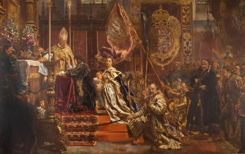 """Jan Matejko, """"Śluby Jana Kazimierza"""", 1893"""