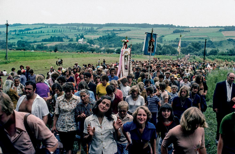 Chris Niedenthal, Kalwaria Pacławska, August 1977. Pilgrimage, photo: press material