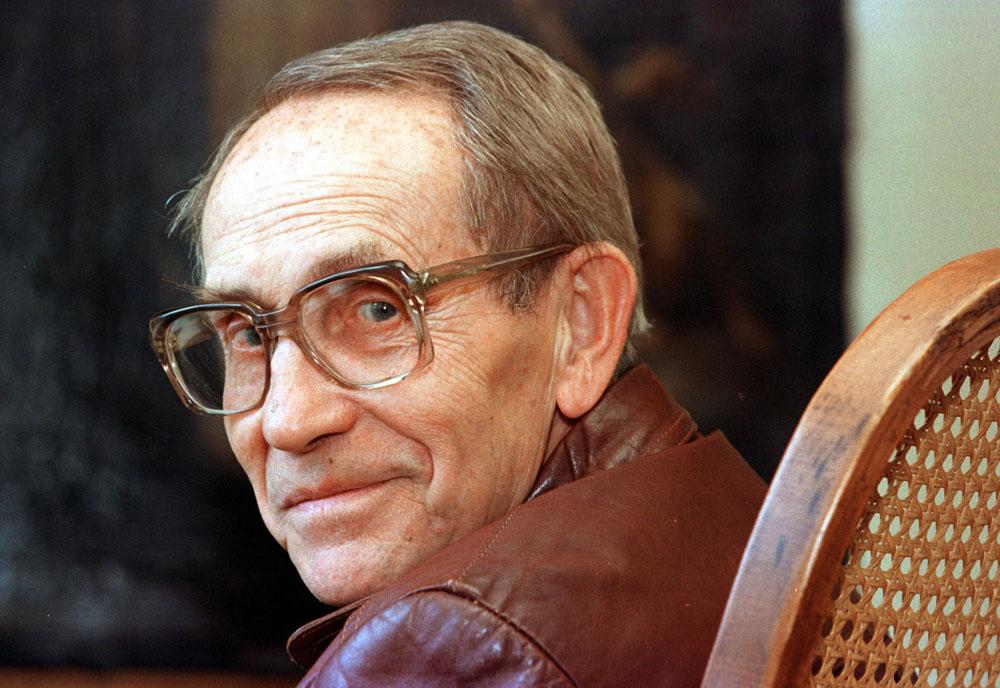 Tadeusz Konwicki, 1998, fot. Krzysztof Wojciechowski / Forum