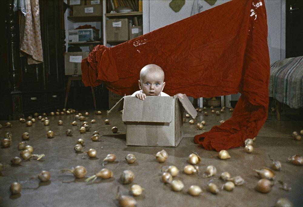 """KwieKulik, """"Działania z Dobromierzem"""", 1972-74, dygitalizacja 2008, fot. Galeria Raster / www.rastergallery.com"""
