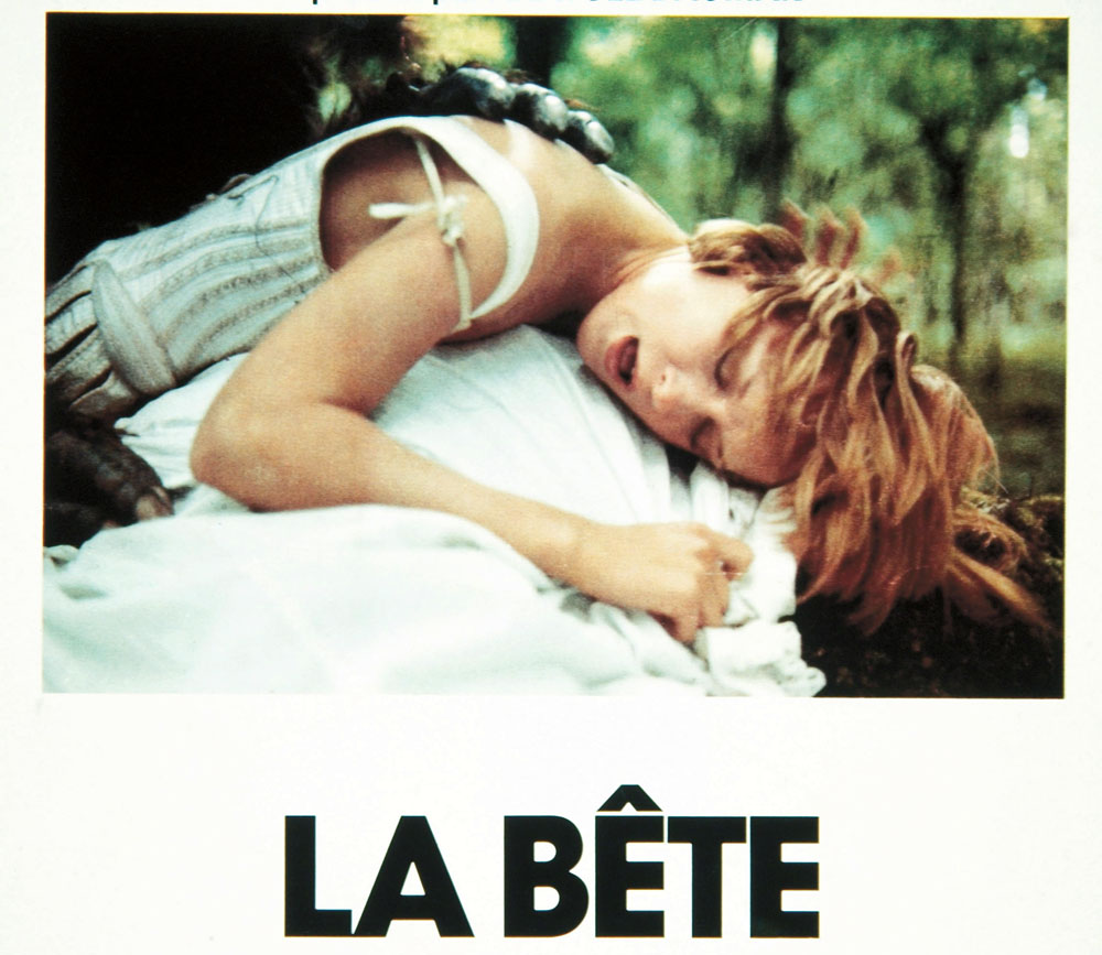 "Still from the film ""La bete / The Beast,"" directed by Walerian Borowczyk, 1975, photo album / East News"