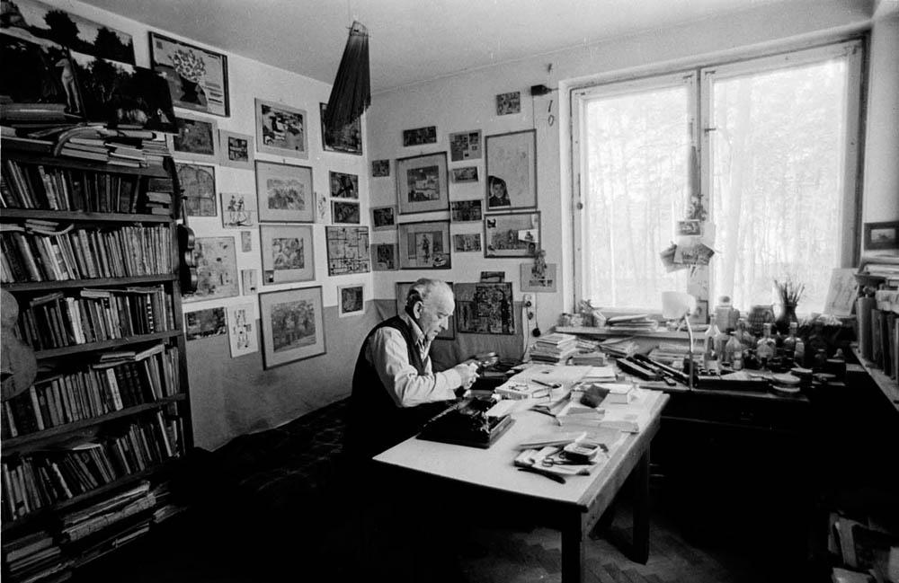 Leopold Buczkowski, 1972, photo: Aleksander Jarosiński / Forum