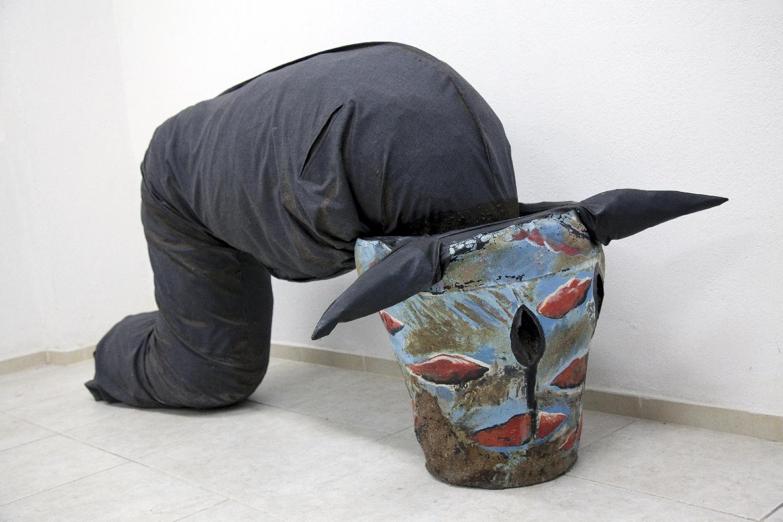 Leszek Knaflewski, Untitled (Buffalo), 1987, photo: Łódź Art Museum