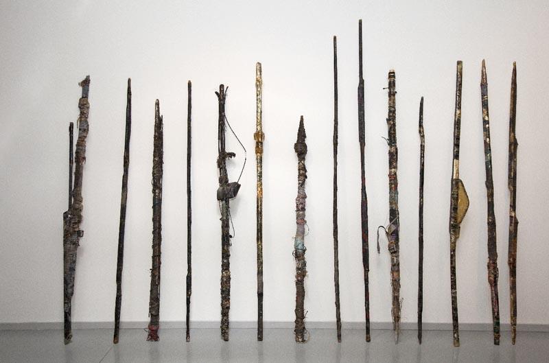 Leszek Knaflewski, Untitled (Spears), 1983, photo: Łódź Art Museum