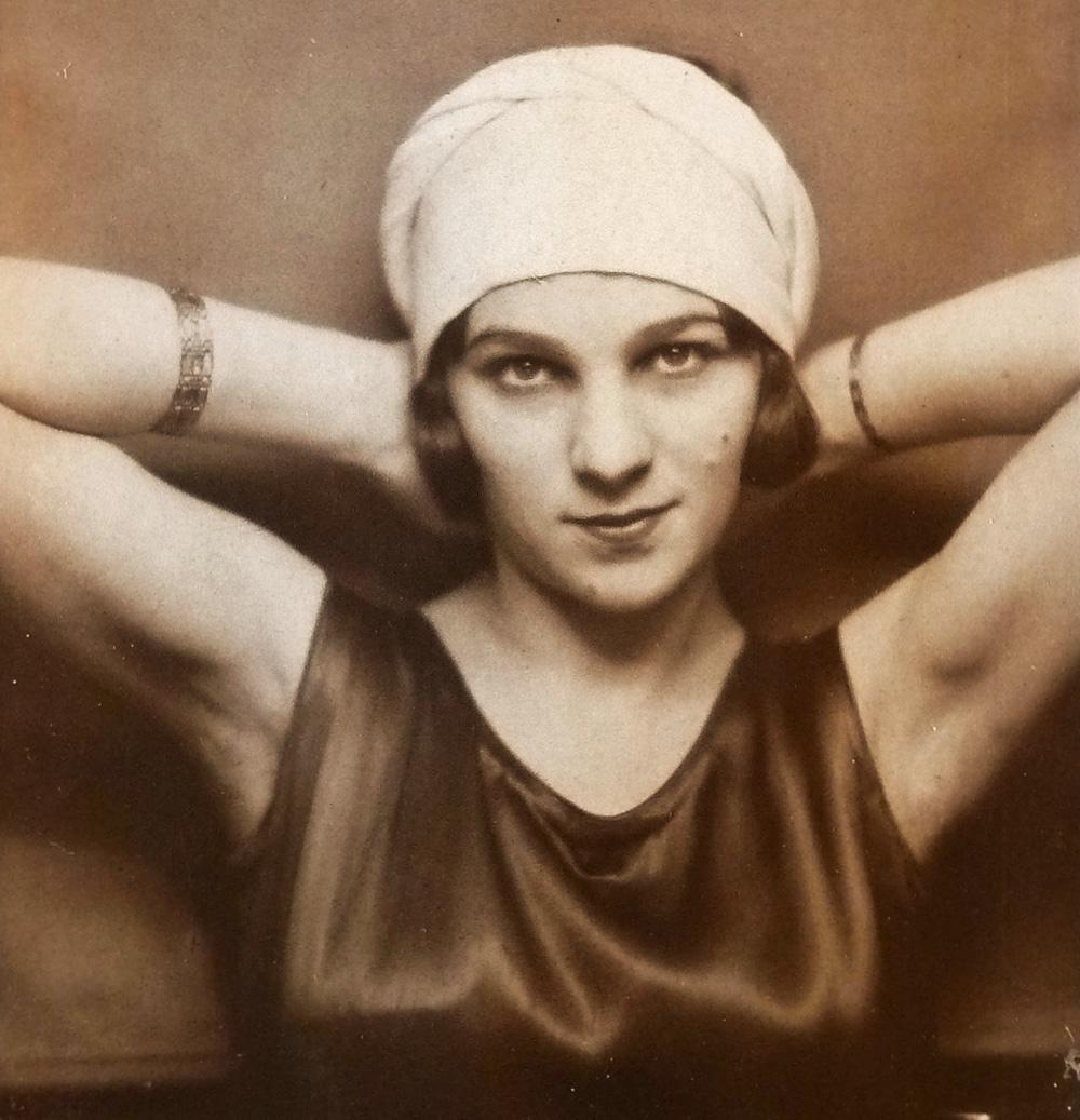 Lili Larys (Helena Maliszewska), Warsaw, 1928, photo: archive of Jerzy Płaczkiewicz