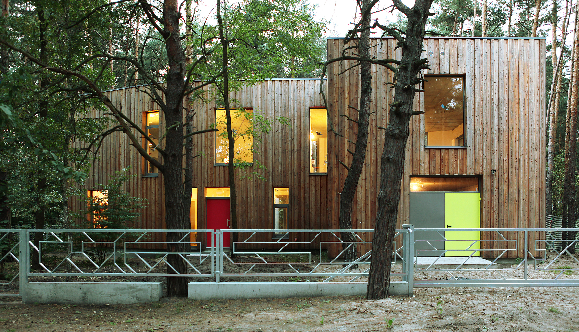 Małgorzata Sadowska-Sobczyk, dom własny w Józefowie, 2008-2012, fot. dzięki uprzejmości Małgorzaty Sadowskiej-Sobczyk