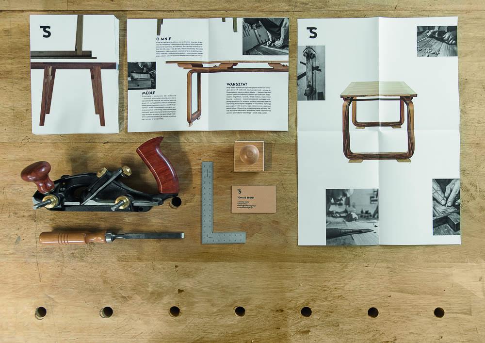Project by Oku Miłe / Mateusz Kowalski: Visual Identification for Tomasz Segiet, 2013, photo: Małgorzata Turczyńska / Print Control no.3