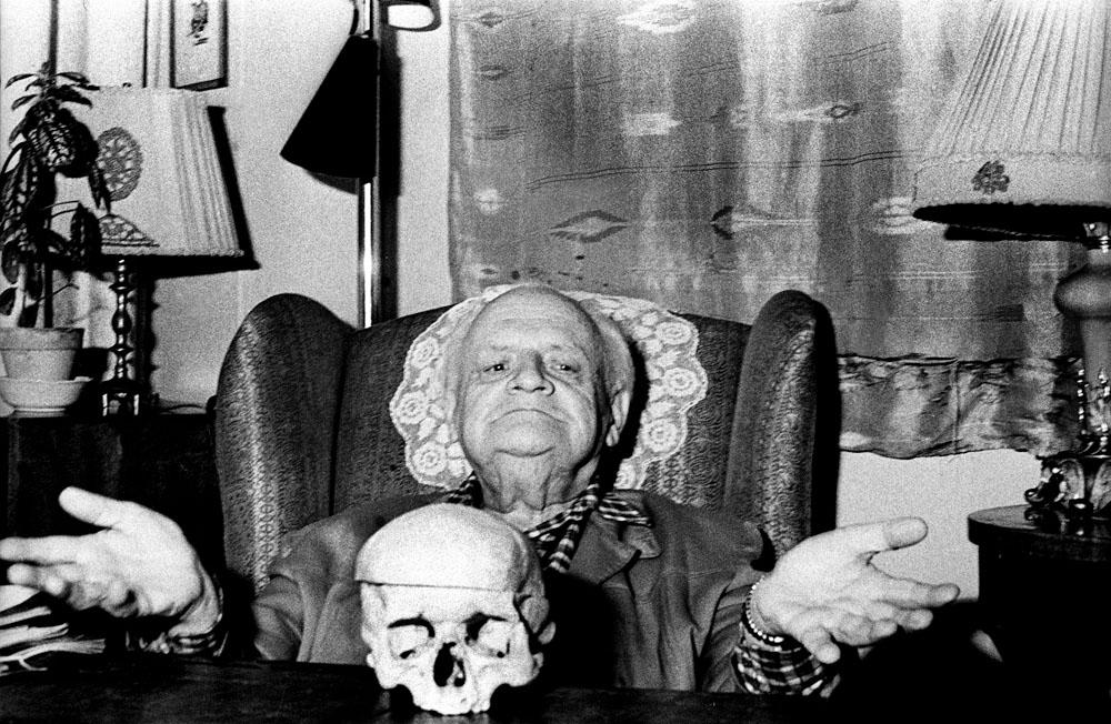 Melchior Wańkowicz, 1972, Warszawa, fot. Aleksander Jałosiński / Forum