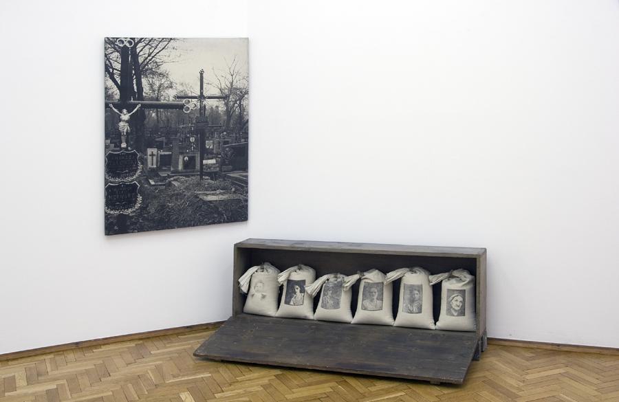 """Tadeusz Kantor""""Portret matki"""", 1976, fot. Muzeum Sztuki w Łodzi"""