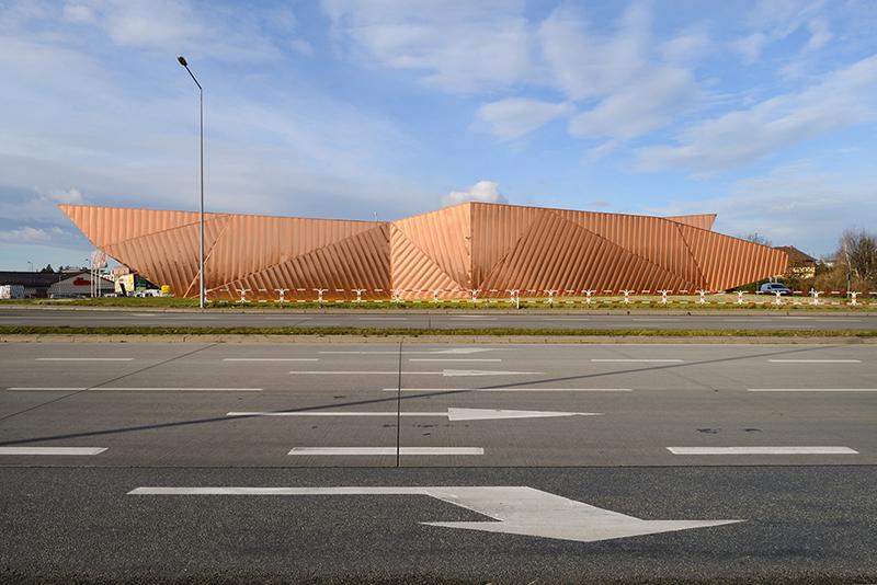 Muzeum Ognia w Żorach, projekt : Barbara i Oskar Grąbczewski (OVO Grąbczewscy Architekci), fot. OVO Grabczewscy Architekci